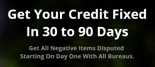 Unlimited negative items disputed on all major bureaus!